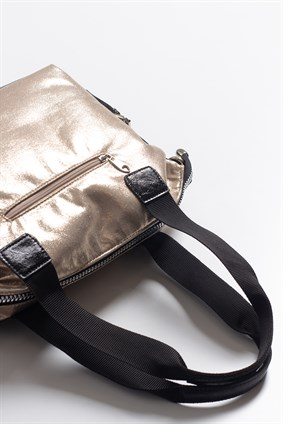 ADRIAN Black Soft Copper Bag