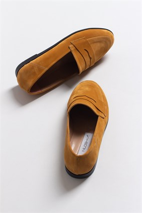 ARIA Mustard Loafer Casual