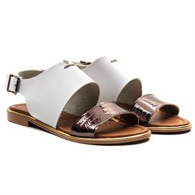 MORE White Vaketa Sandals