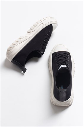PAT Black Laced Casual