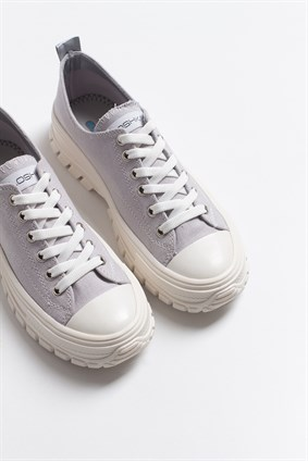 PAT Soft Grey Laced Casual