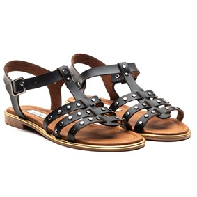 PELSY Black Vaketa Sandals