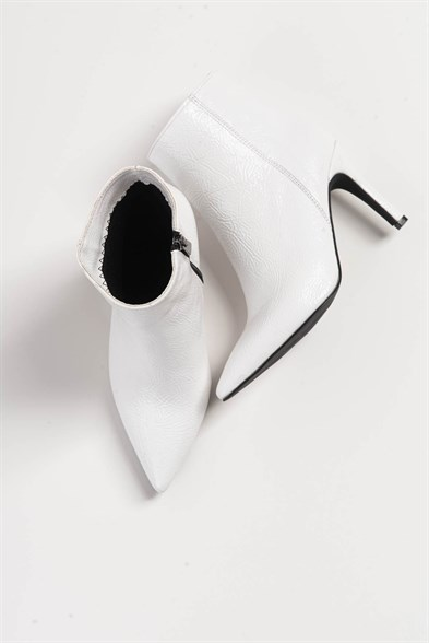 VIVAL White Patent Bayan Bootie